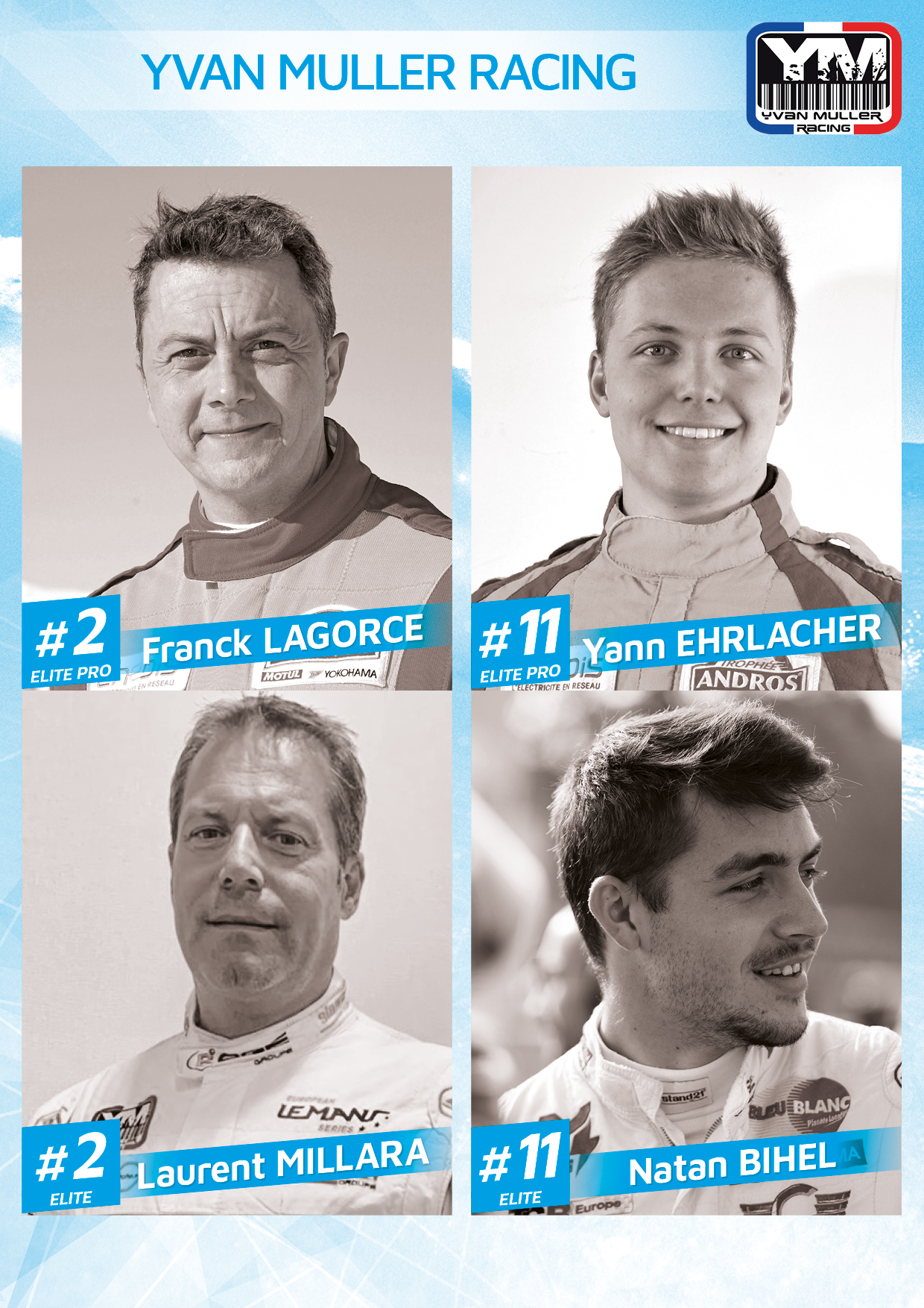 Engages Yvan Muller Racing