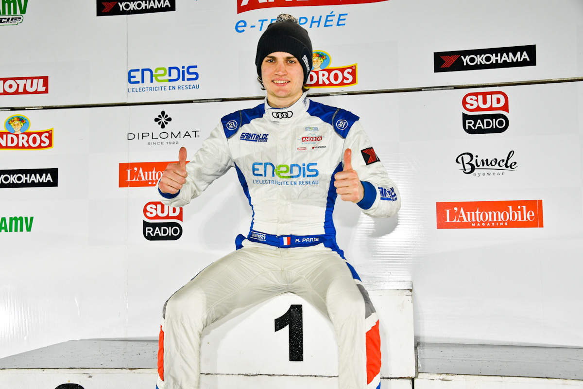 Aurélien Panis, the youngest Trophée Andros' winner.
